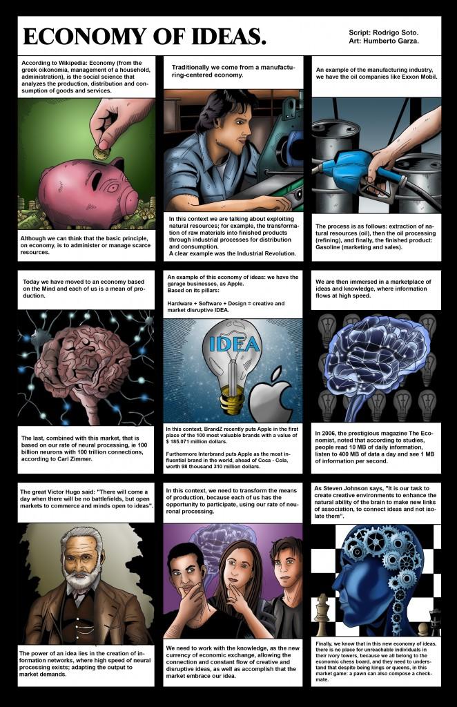 Economy of Ideas (Cartoons RRSM)