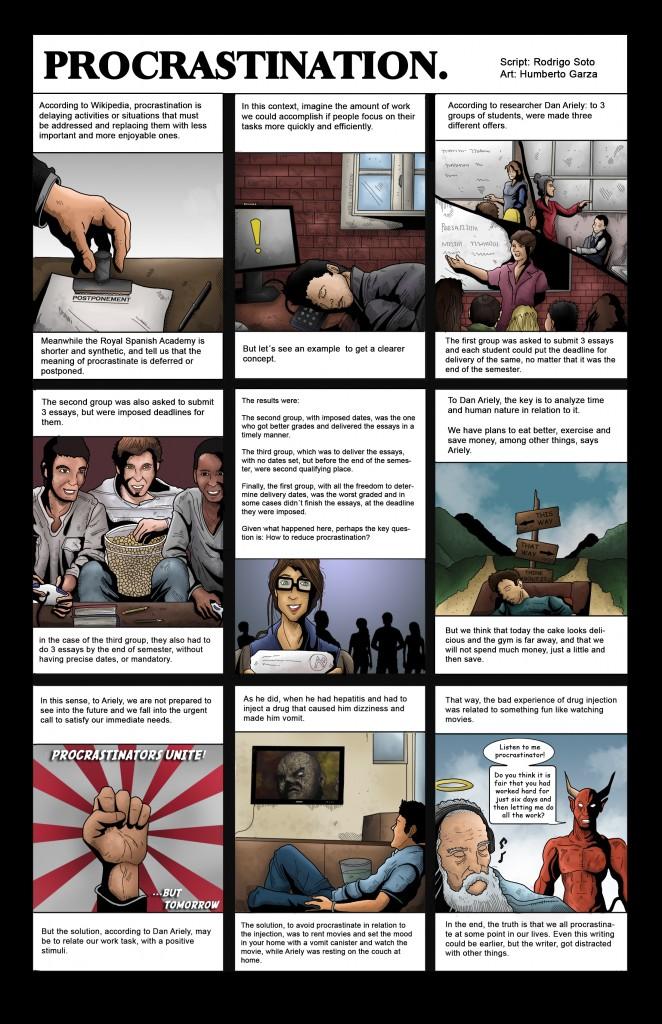Procrastination (Cartoons RRSM)
